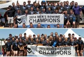 Washington men, Stanford women earn Pac-12 men's and women's rowing titles