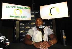 2015 Pac-12 Football Media Days: Oregon's Royce Freeman ready to step into leadership role