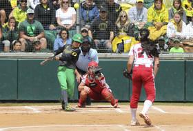Oregon softball Janie Takeda