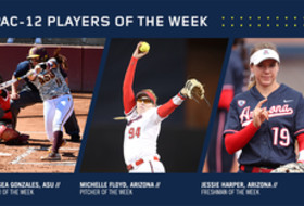 Pac-12 Softball Players of the Week for March 14