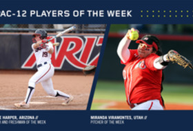 Pac-12 Softball Players of the Week for March 21