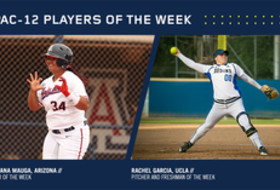 Pac-12 Softball Players of the Week for April 11