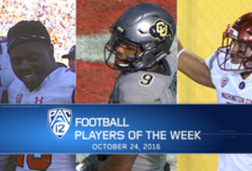 Utah's Joe Williams, Colorado's Tedric Thompson, Washington State's Robert Taylor, Jr., named Pac-12 football players of the week