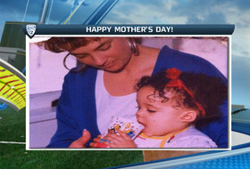 Video: Cal, Washington softball thank their moms on Mother's Day weekend
