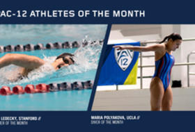 Pac-12 Announces Women's Swimmer and Diver of the Month
