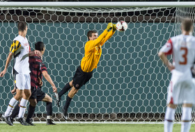 <p>Stanford men's soccer Drew Hutchins</p>