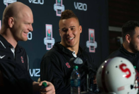 Video: Stanford defensive standouts get behind the mic prior to the 100th Rose Bowl Game