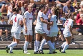 <p>Stanford's women's soccer</p>