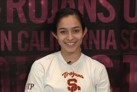 Video: USC's Samantha Bricio talks Pac-12 honor, conference standings