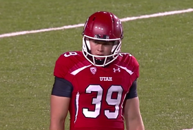 Utah kicker Andy Phillips does it all in his first football game