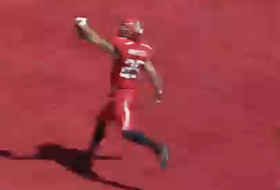 Utah's Mike Honeycutt pulls football right out of Weber State's hands