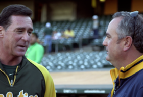 Exclusive to 'The Drive': Oakland A's manager Bob Melvin and Sonny Dykes talk sabermetrics