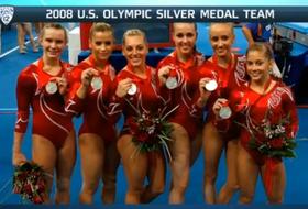 Video: Old friends reunited during Florida-UCLA women's gymnastics meet