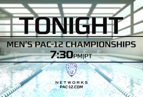 Watch the Men's Swimming and Diving Championships on Pac-12 Networks 7:30 p.m. PT Monday