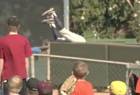 Video: Arizona's Joseph Maggi earns major kudos for outfield effort