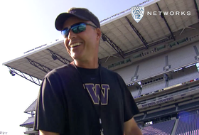 Video: Washington training camp includes free throws and canoe races