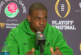 Oregon's Marshall responds to the Ducks being called a 'finesse team'