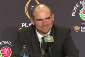 Mark Helfrich is not thinking about the 49ers' coaching vacancy