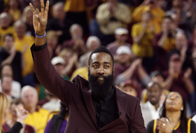 Former Sun Devil James Harden's number retired
