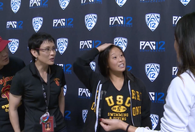 USC's Haley Ishimatsu surprised with Scholar-Athlete of the Year honors
