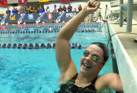 Highlight: Stanford's Brickelle Bro breaks 1650 freestyle S8 Paralympic American Record