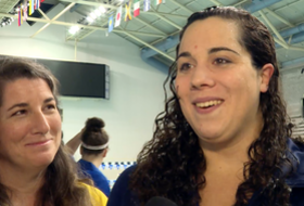 Cal's Rachael Acker discusses winning 2016 Pac-12 Women's Swimming and Diving Scholar Athlete of the Year