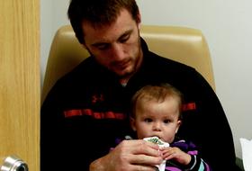 Video: Utah's Trevor Reilly perseveres through injury, daughter's cancer battle