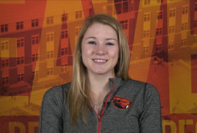 Oregon State's Madeline Gardiner on being named Pac-12 Specialist of the Week