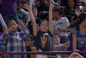 Excited young fans help No. 13 ASU to a win in annual field trip game