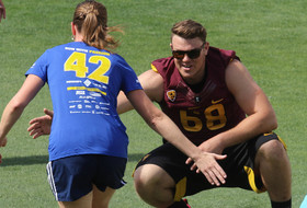 Arizona State football takes part in annual Pat's Run to honor late Sun Devil