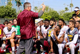 Pac-12 football coaches teleconference: Spring quarterback battles and satellite camps