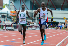 Arizona's Lawi Lalang runs fastest collegiate 1500-meter, edges out Edward Cheserek