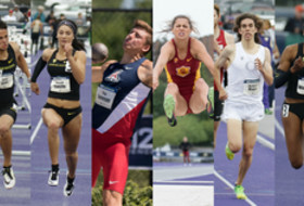 Oregon's Devon Allen and Hannah Cunliffe named Pac-12 Track Athletes of the Year; Arizona's Pau Tonnesen and USC's Amalie Iuel named Pac-12 Field Athletes of the Year; Oregon's Matthew Maton and Ariana Washington named Pac-12 Freshman of the Year