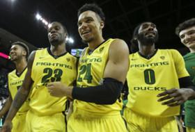 2016 Oregon Ducks Men's Basketball - Tyler Dorsey, Elgin Cook, Dillon Brooks, Dwayne Benjamin