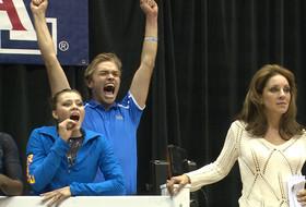 UCLA team manager spreads Bruins gymnastics pride