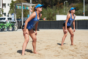 UCLA's Nicole McNamara and Megan McNamara