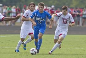 <p>UCLA men's soccer Leo Stolz</p>