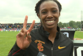 USC Stepter on winning 400m hurdles and Scholar-Athlete of the Year: 'That's always been my drive'