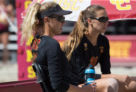 USC's Jenna Belton and Abril Bustamante