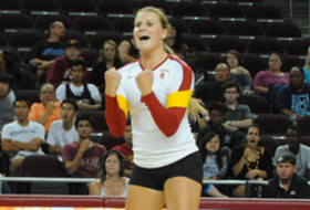 <p>USC's Hayley Crone in 2012</p>
