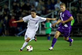 <p>Washington men's soccer Cristian Roldan</p>