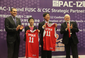 Utah President David W. Pershing 'proud' to partner with Pac-12, CSC and FUSC for coaching alliance