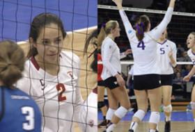 NCAA Women's Volleyball Tournament: Washington and USC advance to Elite 8