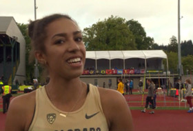 2017 Pac-12 Track & Field Championships: Colorado's Madison Boreman breaks down her final kick to win 3,000m steeplechase crown