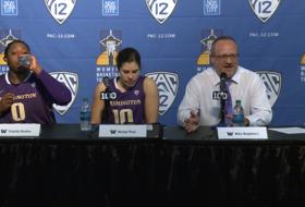 Washington head coach Mike Neighbors urges fans to attend Pac-12 Tournament final