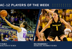 Pac-12 announces women's basketball players of the week