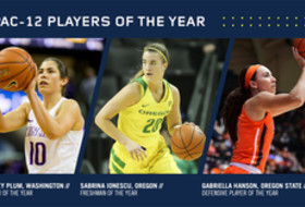 2016-17 Pac-12 Women's Basketball honors