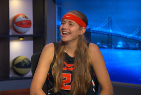 Sydney Wiese and her headband make big impression at Oregon State