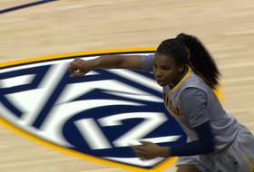 Video: Cal's Reshanda Gray sets a new career high