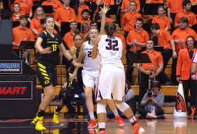 Recap: No. 11 Oregon State women's basketball gets 10th straight Civil War win against Oregon
